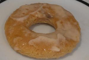baked banana caramel pie donuts