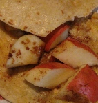 Apple Cinnamon French Toast Tortilla