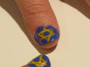 Hannukah 2012 Jewish stars