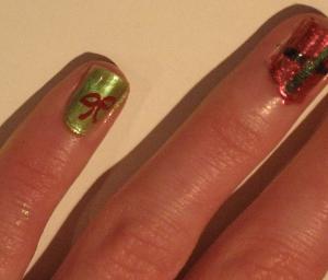 Christmas 2012 nails