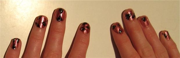 artsy nail design misinterpreted