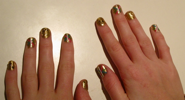 interplanetary Brit nails design