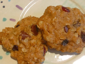 Healthy harmony cookies