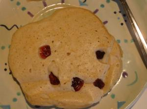 Evil Face Cranberry Pancake
