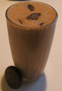 cinnavanilla chocolate thin mint smoothie