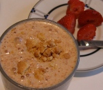butterscotch cookie dough cheesecake smoothie