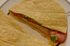 lunch liberation! wednesday: a cool quesadilla