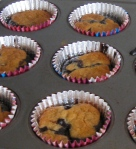 Passover flourless chocolate cupcakes with cookies and cherries