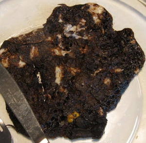 flourless chocolate pancake: kosher for Passover