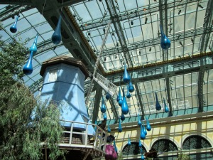 Bellagio conservatory: Las Vegas