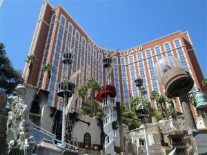 Treasure island ship: Las Vegas