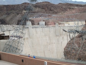 Hoover dam on the way home from Las Vegas