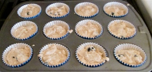 batter for blueberry muffins Weekday Breakfasts Updated! Monday