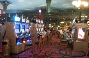 slot machines at Paris Las Vegas