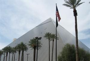 Las Vegas: Luxor pyramid