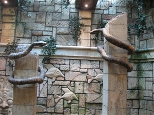 snakes at Mandalay bay Las Vegas
