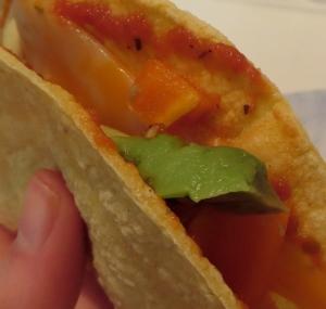enchilada taco for one