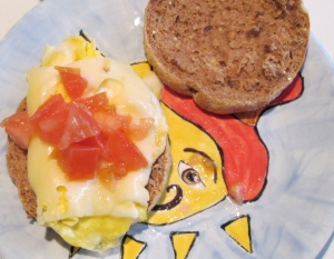 seven selfish days - day four: whole wheat Egg McMuffin