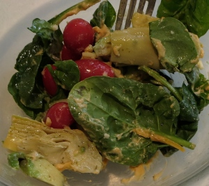 mediterranean inspired salad