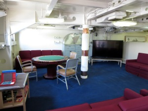 living area in battleship iowa