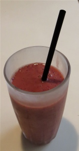 papaya cherry berry blend smoothie