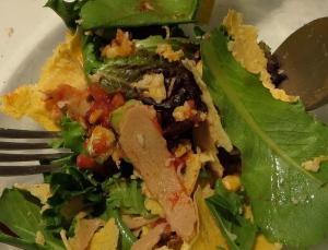 no beans taco salad