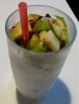 dessert for breakfast day one apple caramel vanilla smoothie parfait