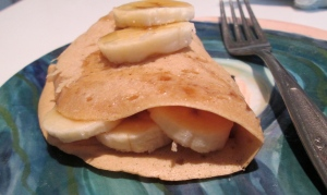 banana maple crêpe