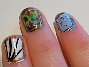 modern art nails frames
