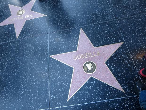 Godzilla star Hollywood