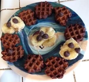 chocolate mini waffles sunbeam mini waffle maker