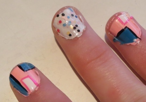 pop art nails boxes