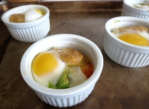 baked egg ramekins Mediterranean Gardein brand seven grain crispy tenders