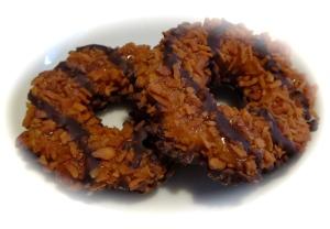 girl scouts samoa cookies