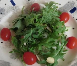 kale platter tomato almond