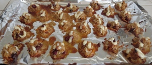 passover coconut macaroons carrot cake cream cheese icing