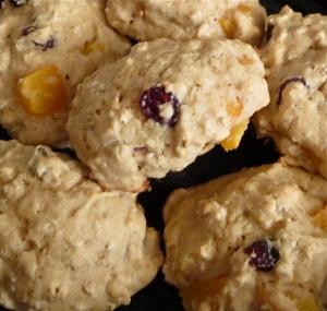 vegan friendly whole wheat maple cranberry pistachio apricot scones with maple glaze