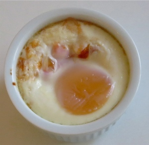 3 ingredient baked egg shakshuka ramekin