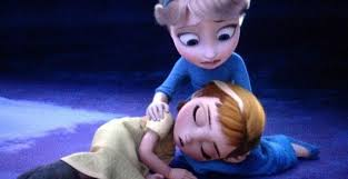 The Parents Promise Elsa Will Learn To Control Her Powers Young Hurts Anna Accidentally Frozen