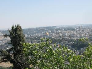 view of Jerusalem Israel