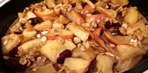 baked apple honey pancake great grains crunchy pecans cranberry raisin
