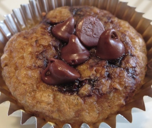 coffee chocolate chip muffins banana oatmeal maple